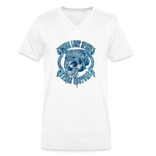 Kabes Sins of a Biker - Men's Organic V-Neck T-Shirt by Stanley & Stella