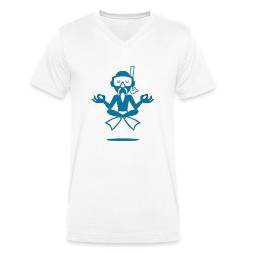 DIVEMASTER Oceanblue - Männer Bio-T-Shirt mit V-Ausschnitt von Stanley & Stella