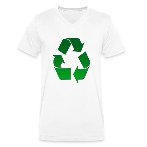 Recyclage - T-shirt bio col V Stanley & Stella Homme