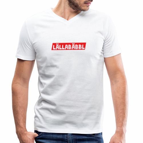 Lällabäbbl - Männer Bio-T-Shirt mit V-Ausschnitt von Stanley & Stella