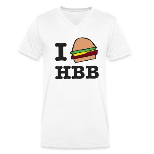 hbbTEE 001 png - Mannen bio T-shirt met V-hals van Stanley & Stella