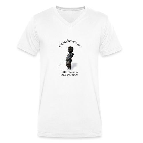 BXL ♀♂ | mannekenpis - T-shirt bio col V Stanley & Stella Homme