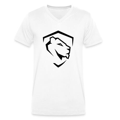 Aesthetics - Ekologiczna koszulka męska z dekoltem w serek Stanley & Stella