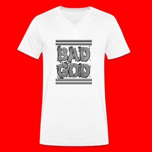 BadGod - Men's Organic V-Neck T-Shirt by Stanley & Stella