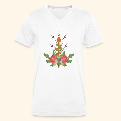 Kurbits Bukett - Men's Organic V-Neck T-Shirt by Stanley & Stella