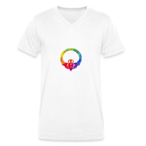 gladdagh - Männer Bio-T-Shirt mit V-Ausschnitt von Stanley & Stella