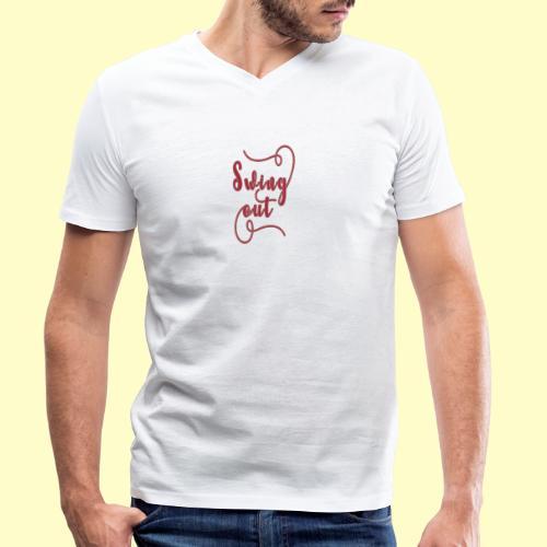Swing Out Lindy Hop Vintage - Swing Retro - Männer Bio-T-Shirt mit V-Ausschnitt von Stanley & Stella