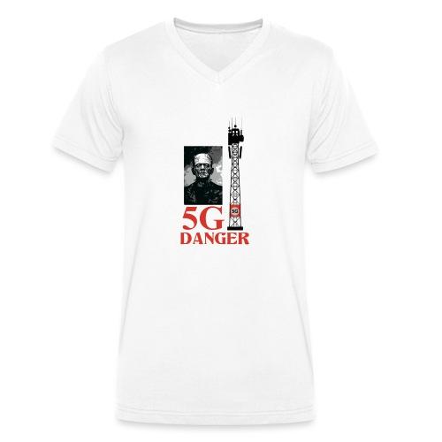 5 G DANGER - Men's Organic V-Neck T-Shirt by Stanley & Stella