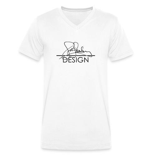 sasealey design logo png - Men's Organic V-Neck T-Shirt by Stanley & Stella