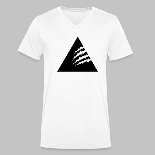 3CLAW-Black - Männer Bio-T-Shirt mit V-Ausschnitt von Stanley & Stella