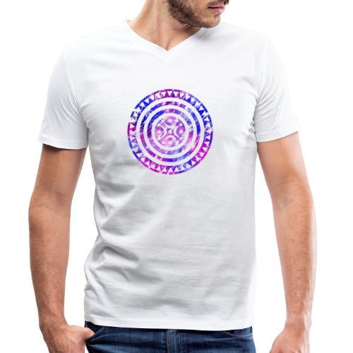 Estela cántabra AF - Camiseta ecológica hombre con cuello de pico de Stanley & Stella