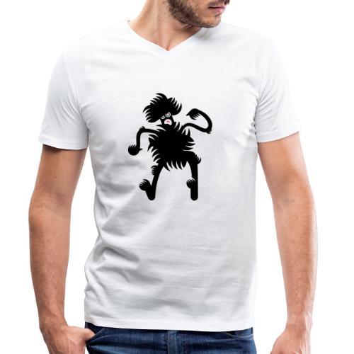 Dancing at the Discotheque - T-shirt ecologica da uomo con scollo a V di Stanley & Stella