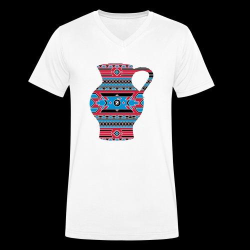 Hessen Natives Herren - Männer Bio-T-Shirt mit V-Ausschnitt von Stanley & Stella