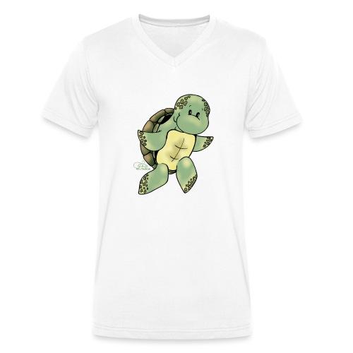 Schillikröt - Männer Bio-T-Shirt mit V-Ausschnitt von Stanley & Stella
