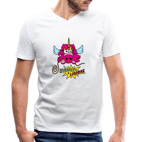 Licorne WT - T-shirt bio col V Stanley & Stella Homme