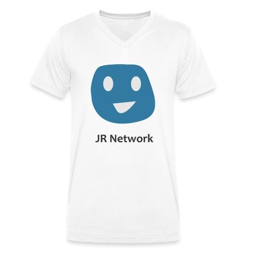 JR Network - Men's Organic V-Neck T-Shirt by Stanley & Stella