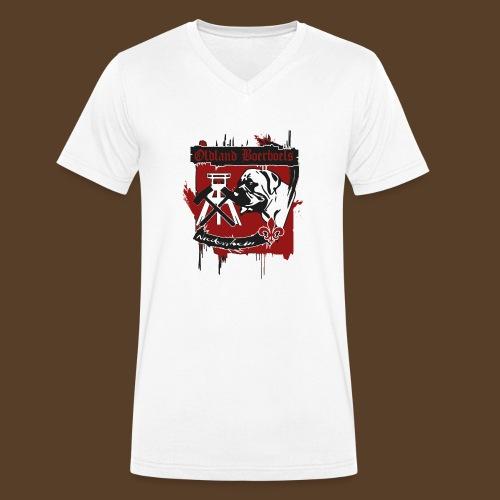Oldland Boerboels la Familia - Männer Bio-T-Shirt mit V-Ausschnitt von Stanley & Stella