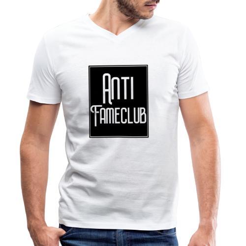 Anti FameClub - Männer Bio-T-Shirt mit V-Ausschnitt von Stanley & Stella