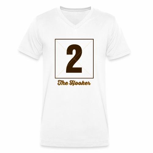 Hooker2 Marplo - T-shirt ecologica da uomo con scollo a V di Stanley & Stella