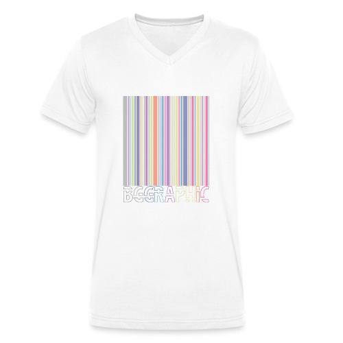 Bar code - Men's Organic V-Neck T-Shirt by Stanley & Stella