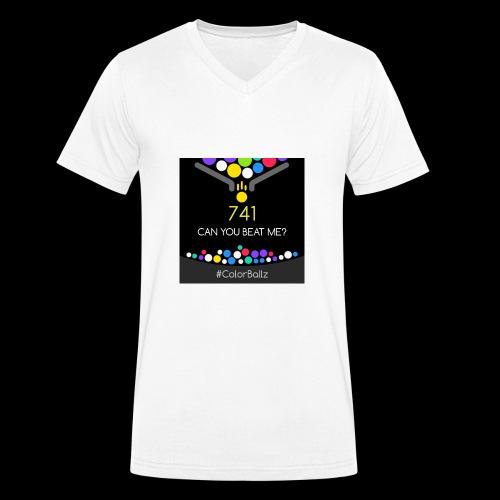 color ballz - T-shirt bio col V Stanley & Stella Homme