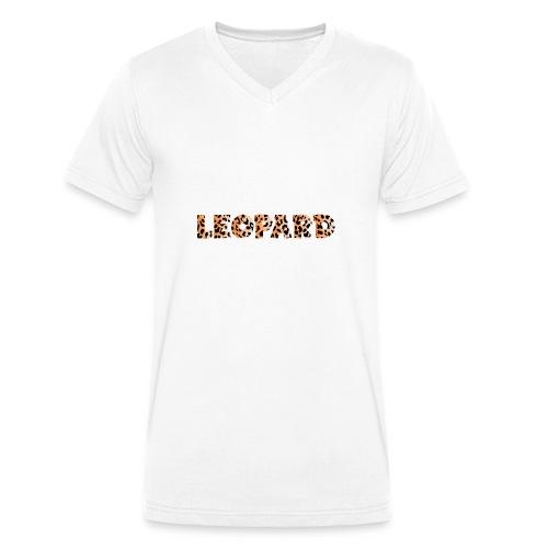 leopard 1237253 960 720 - Männer Bio-T-Shirt mit V-Ausschnitt von Stanley & Stella