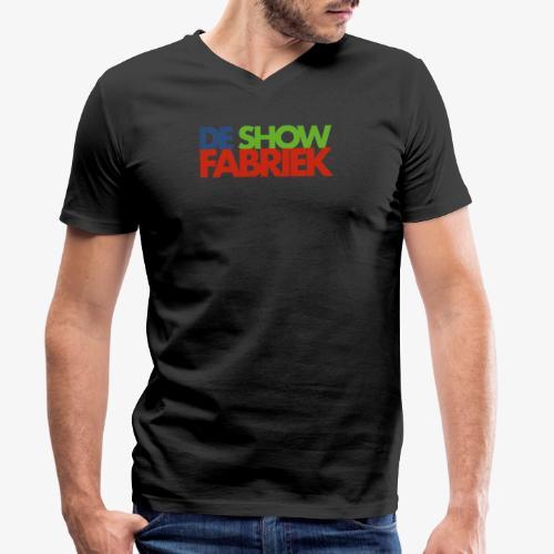 De Showfabriek - Mannen bio T-shirt met V-hals van Stanley & Stella
