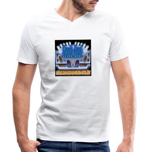 fresh-beat - Männer Bio-T-Shirt mit V-Ausschnitt von Stanley & Stella