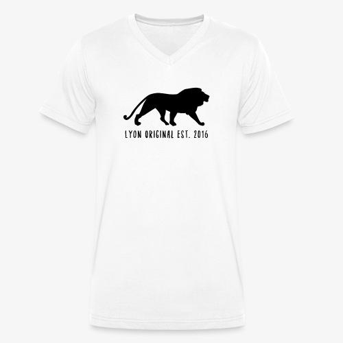 Lyon Original Est.2016 - Økologisk T-skjorte med V-hals for menn fra Stanley & Stella
