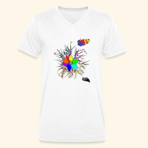 equal love - Männer Bio-T-Shirt mit V-Ausschnitt von Stanley & Stella