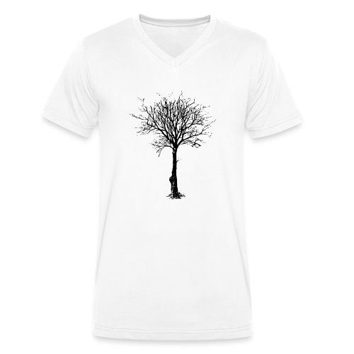 BareTree.png - Camiseta ecológica hombre con cuello de pico de Stanley & Stella