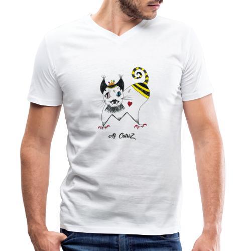 Al Catriz - T-shirt bio col V Stanley & Stella Homme