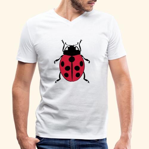 marienkaefer - Männer Bio-T-Shirt mit V-Ausschnitt von Stanley & Stella