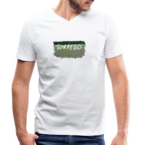 torpedo frauntal png - Männer Bio-T-Shirt mit V-Ausschnitt von Stanley & Stella