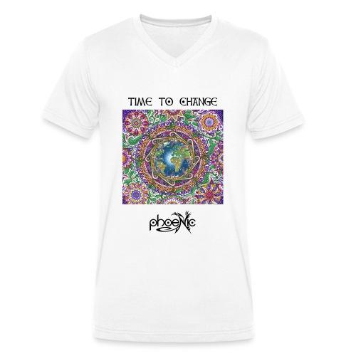PhoeNic - Logo - Männer Bio-T-Shirt mit V-Ausschnitt von Stanley & Stella