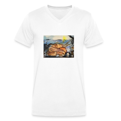 Lezvos 11 - Ekologisk T-shirt med V-ringning herr från Stanley & Stella