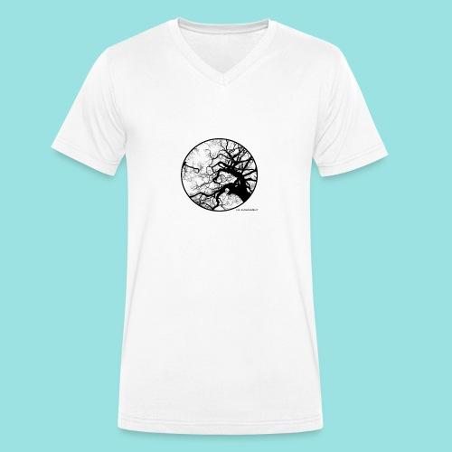 Baum, Natur, Umwelt, Wald, Mutter Erde, Bäume, Art - Männer Bio-T-Shirt mit V-Ausschnitt von Stanley & Stella