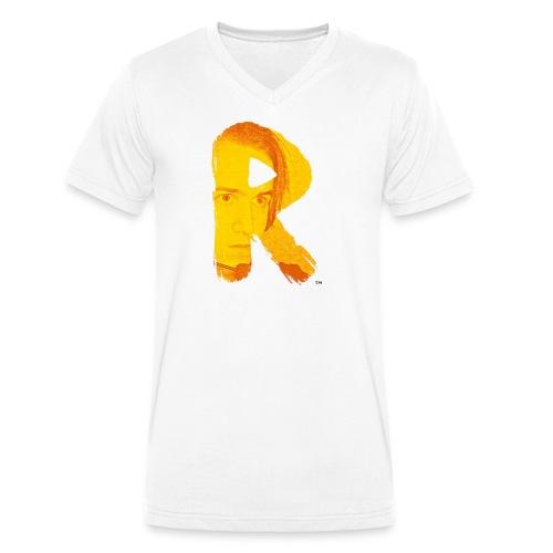 RaG Gaming™ small logo - Økologisk T-skjorte med V-hals for menn fra Stanley & Stella