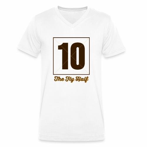 FlyHalf10 Marplo - T-shirt ecologica da uomo con scollo a V di Stanley & Stella