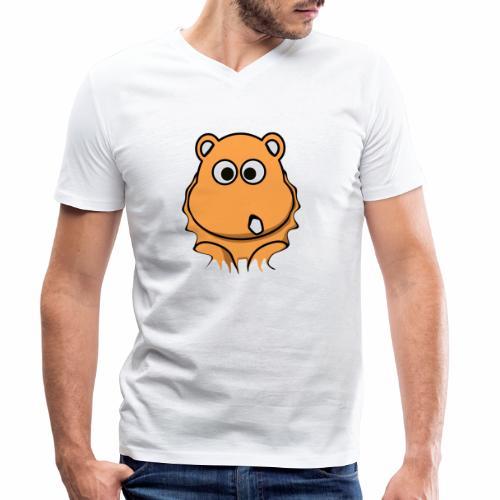 Nashorn - Männer Bio-T-Shirt mit V-Ausschnitt von Stanley & Stella