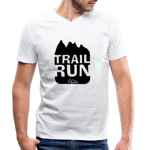 Trail Run - Männer Bio-T-Shirt mit V-Ausschnitt von Stanley & Stella
