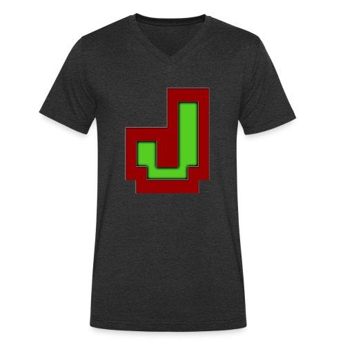 Stilrent_J - Økologisk Stanley & Stella T-shirt med V-udskæring til herrer