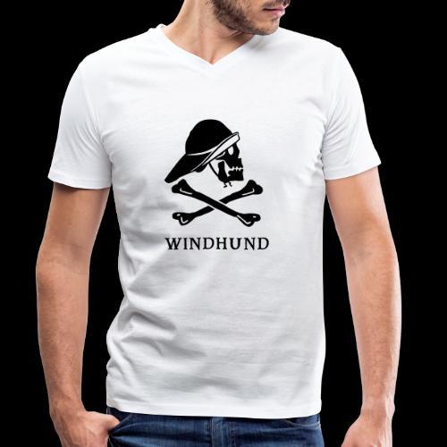 ~ Windhund ~ - Männer Bio-T-Shirt mit V-Ausschnitt von Stanley & Stella