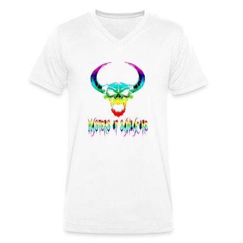 mos2 png - Mannen bio T-shirt met V-hals van Stanley & Stella