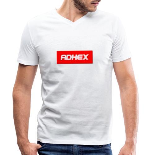 Adhex X Suprim - Camiseta ecológica hombre con cuello de pico de Stanley & Stella