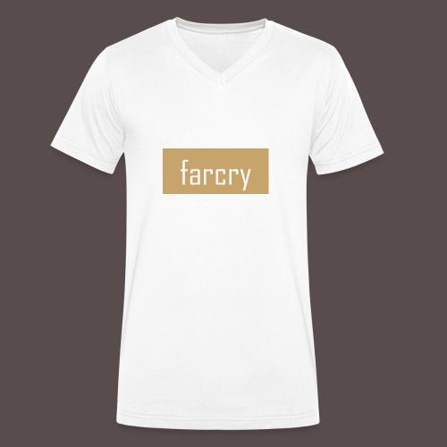 farcryclothing - Männer Bio-T-Shirt mit V-Ausschnitt von Stanley & Stella