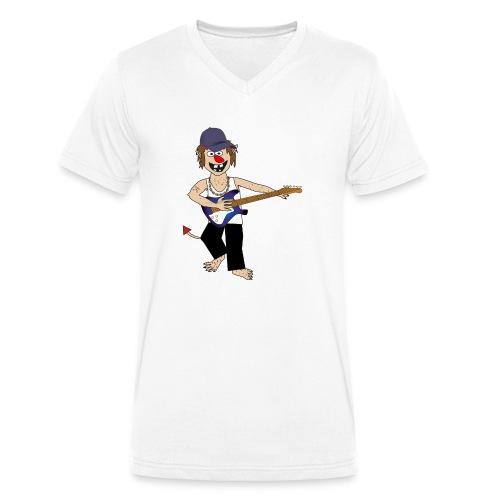 Baby trold - Økologisk Stanley & Stella T-shirt med V-udskæring til herrer