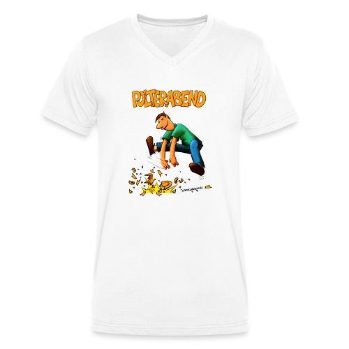 polter2019.png - Männer Bio-T-Shirt mit V-Ausschnitt von Stanley & Stella