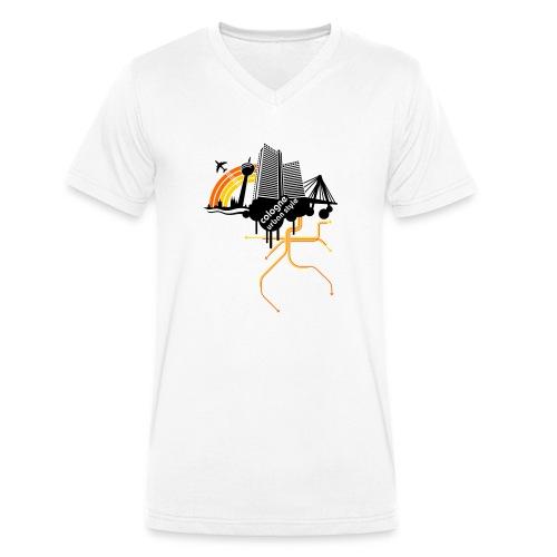 Cologne Urban Style (Köln/Stadt/Karneval) - Männer Bio-T-Shirt mit V-Ausschnitt von Stanley & Stella