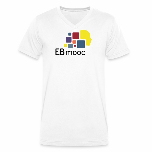 EBmooc Logo - Männer Bio-T-Shirt mit V-Ausschnitt von Stanley & Stella
